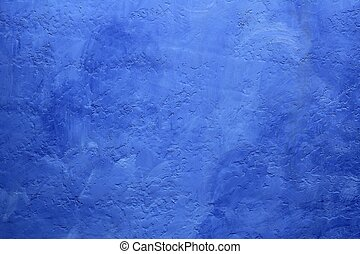 grunge blue painted wall texture background mediterranean...