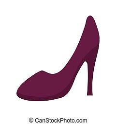 heel icon. Cloth concept design. vector graphic - Cloth...
