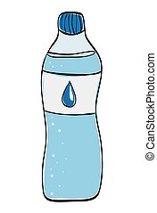 water drink icon Organic and healthy food design vector...