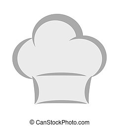 chefs hat icon Food design vector graphic - Food concept...