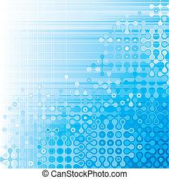 Digital Background - Blue digital pattern background of...