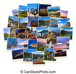 Stack of Montenegro travel images my photos - Stack of...