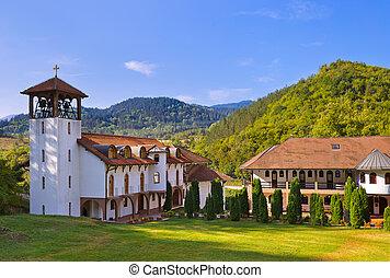 The medieval monastery Dobrun in Bosnia and Herzegovina -...