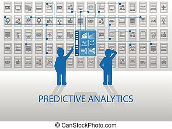 Predictive analytics illustration