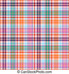 Seamless checkered pattern - Abstract seamless colorful...