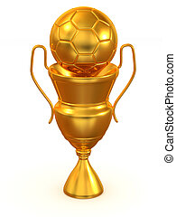 Cup with ball.