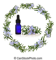 Rosemary Herb Flower Therapy