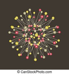 Connection Structure Global Digital Connections Technology...