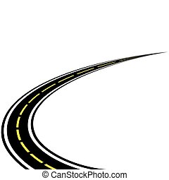 vector of road
