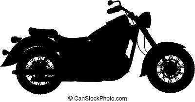 motorbike vector - motorbike made in vector