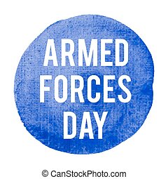Armed Forces Day Holiday, celebration, card, poster, logo,...