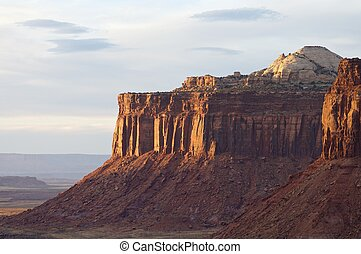 Indian Creek - Hills in Indian Creek, near Canyonlands,...