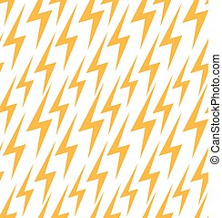 Seamless texture with a flat lightning. Vector background for your design