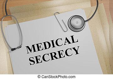 Medical Secrecy medical concept