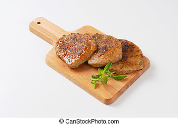 herb rubbed pork chops - roasted herb rubbed boneless pork...