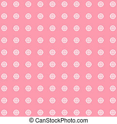 Abstract floral pattern, vintage background in pink tones