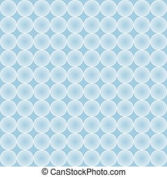 Vector circles abstract pattern background