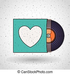 music record design