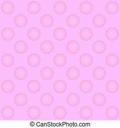 Pink circle pattern