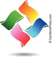 Abstract Logo - Vector Design of Abstract Logo