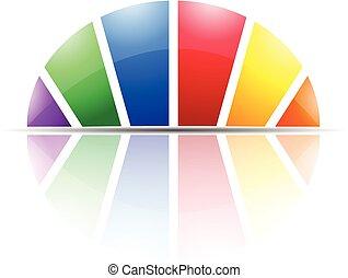 Modern Dome Logo Icon Concept
