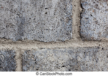 cinder block texture - textured surface of gray cinder block