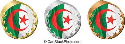 Medals Algeria