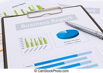 Financial accounting, business report