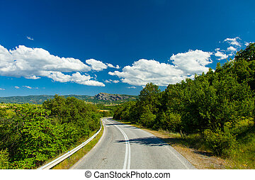country side road - photo of the country side road in Greece