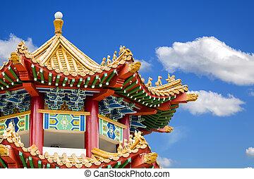 Thean, Hou, templo, en, Kuala, lumpur,