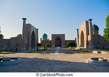 Registan Square. Samarkand