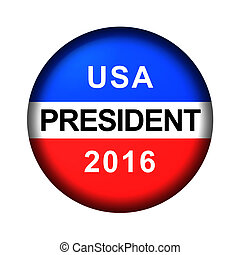 Vote Button President