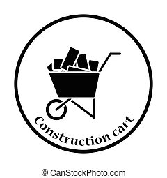 Icon of construction cart