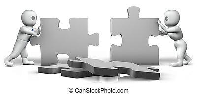 Puzzle building 2