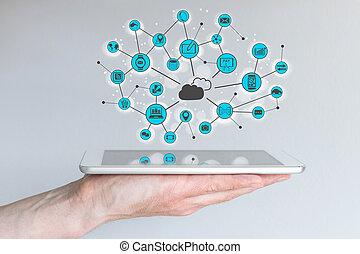 Cloud computing mobile - Cloud computing and mobile...