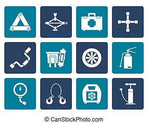transportation equipment icons