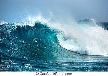 océan, vague