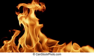 Realistic Fire. HD, loopable - Realistic Fire. HD...