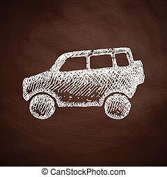 car SUV icon