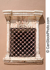 Window of an old building in Hersonissos - Window of an old...