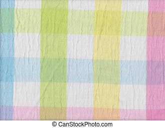 Bright colors of scots pattern fabric texture - Bright...