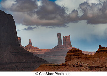 John Ford Point Monument Valley - View from John Ford Point...