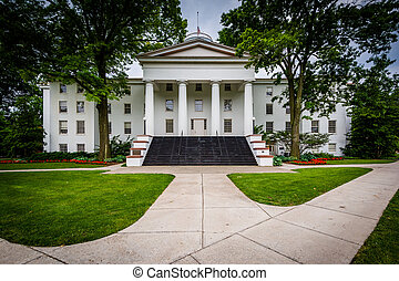 Pennsylvania Hall, on the campus of Gettysburg College, in...
