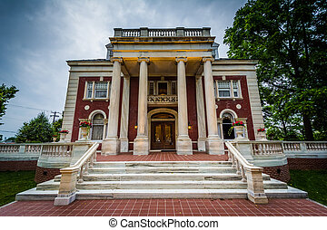 The Sheppard's Mansion, in Hanover, Pennsylvania.