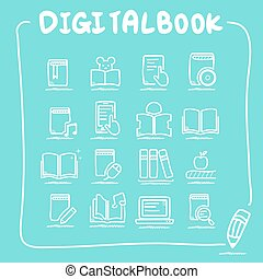 Digital Book icon