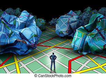 Business Destination Concept