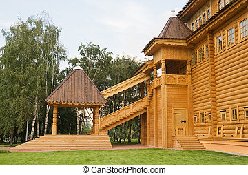 Wooden palace in Kolomenskoe, Moscow
