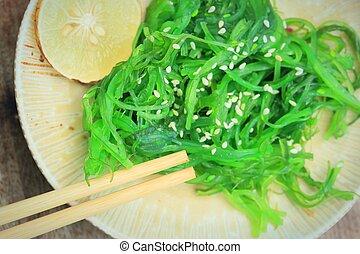 Seaweed salad - Japanese food