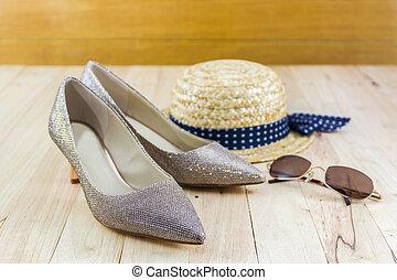 modernos, estilo, imagem, de, femininas, fashion:, Palha,...