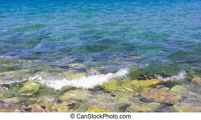 Crystal Clear Sea water 18